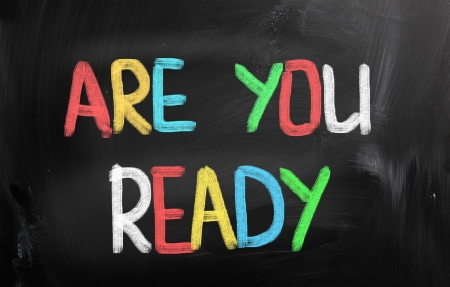 Are You Ready Concept photo