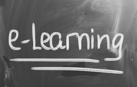 E-learning Concept photo