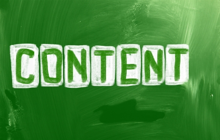 Content Concept Stock Photo - 23641193