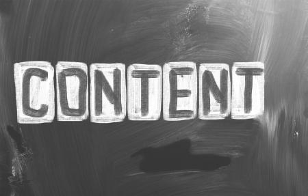 Content Concept Stock Photo - 23641195
