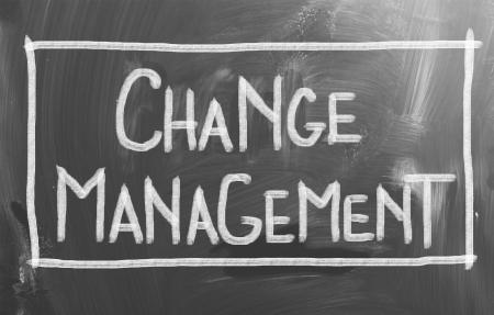 Change Management Concept photo