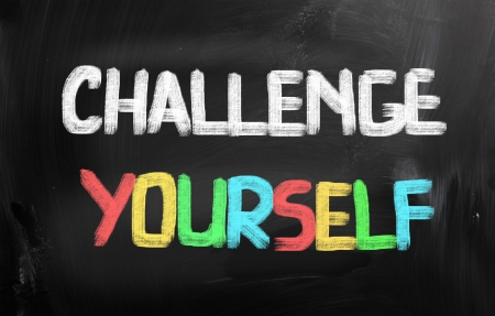 initiate: Challenge Yourself Concept