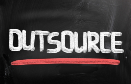 Outsourcing Concept photo