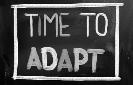 modificar: Tiempo para adaptarse Concept