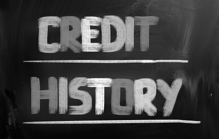 bank records: Credit History Concept