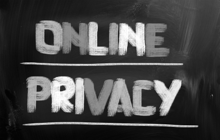 anonymity: Online Privacy Concept Stock Photo