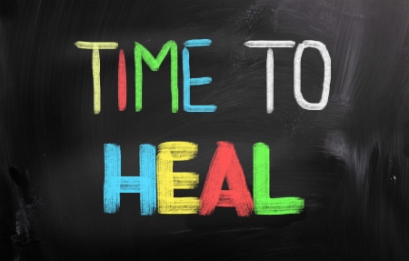 Time To Heal Concept Stock Photo - 24040211