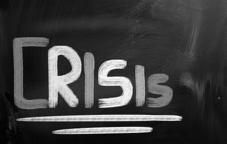 Crisis Concept photo