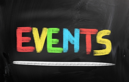 Events Concept Stock Photo