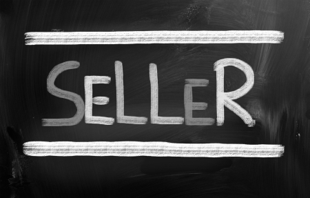 sold sign: Seller Concept Stock Photo