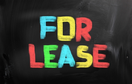 vacant sign: For Lease Concept