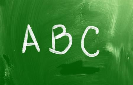 Alphabet Concept photo