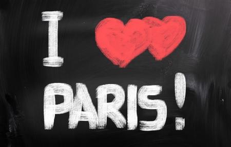 i love paris: I Love Paris Concept