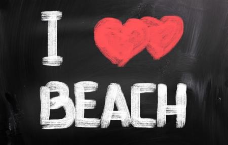 week end: I Love Beach Concept