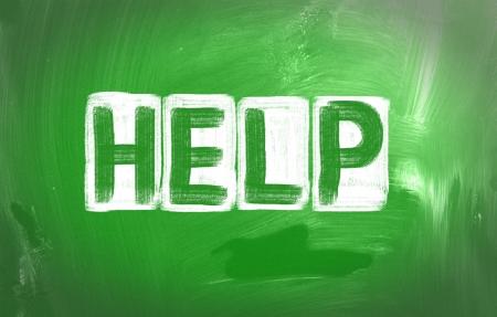 Help Concept Stock Photo - 24610585