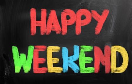 Happy Weekend Concept photo