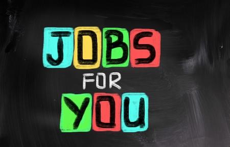 Jobs For You Concept Stock Photo