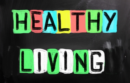 healthy living: Healthy Living Concept