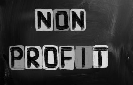 non: Non Profit Concept Stock Photo