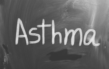 Asthma Concept photo