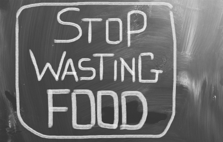 Stop Wasting Food Concept photo
