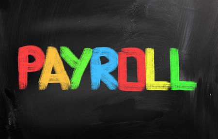payroll: Payroll Concept