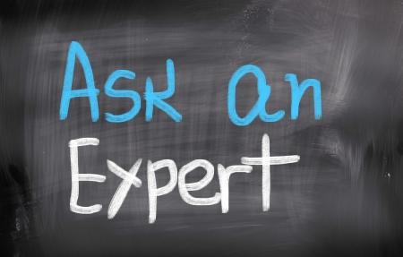 Ask An Expert Concept Stock Photo