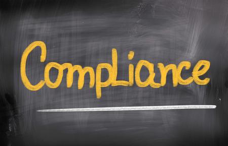 Compliance Concept Stock Photo - 25622079