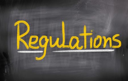 Regulations Concept Stock Photo - 25622085