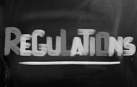 Regulations Concept Stock Photo - 25622087