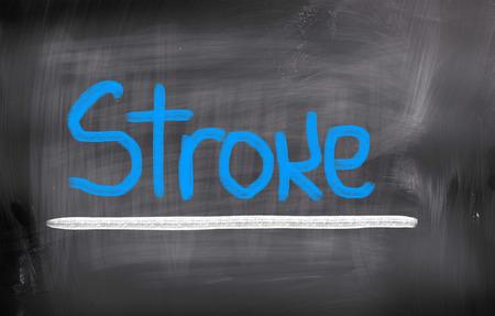 Stroke Concept photo