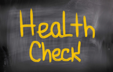 Health Check Concept photo
