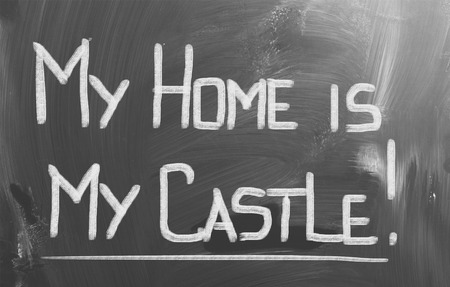 My Home Is My Castle Concept photo