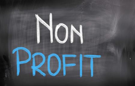 non profit: Non Profit Concept Stock Photo