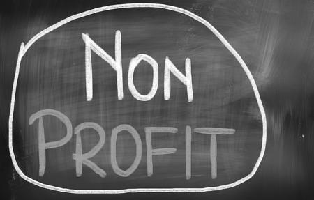nonprofit: Non Profit Concept Stock Photo
