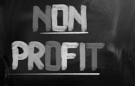 non: Non Profit Concept Stock Photo