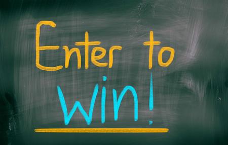 sweepstake: Enter To Win Concept