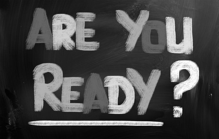 Are You Ready Concept Stock Photo - 25855375