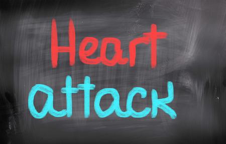 Heart Attack Concept photo