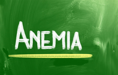 anaemia: Anemia Concept