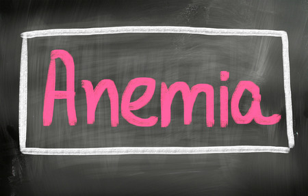 anemia: Anemia Concept