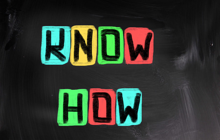 know how: Know How Concept