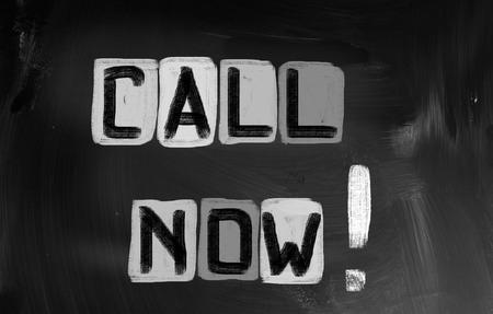 Call Now Concept Stock Photo - 25912211