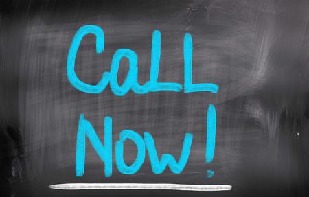 Call Now Concept Stock Photo - 25912212