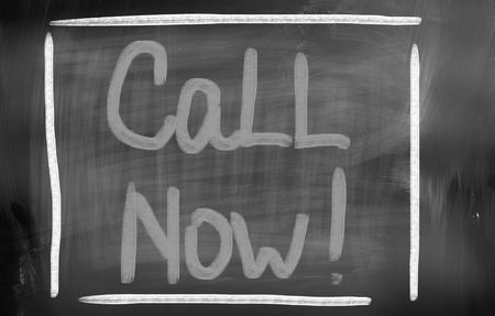 Call Now Concept Stock Photo - 25912213