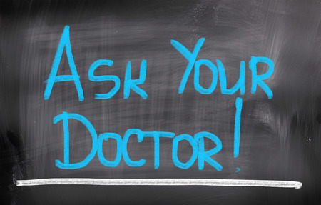 allergy questions: Ask Your Doctor Concept