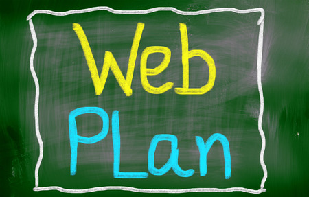 Web Plan Concept photo