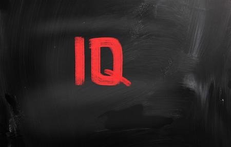 iq: IQ Concept Stock Photo