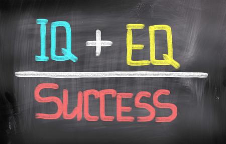 iq: Success Concept Stock Photo