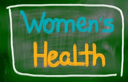 Women's health: Womens Health Concept Stock Photo